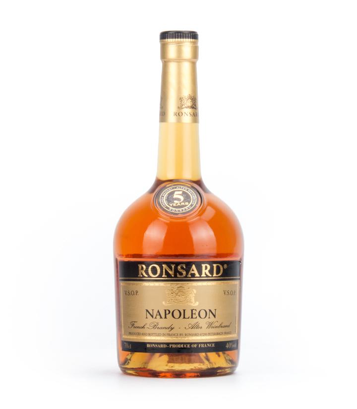 法国龙萨拿破仑VSOP白兰地5年700ml 瓶