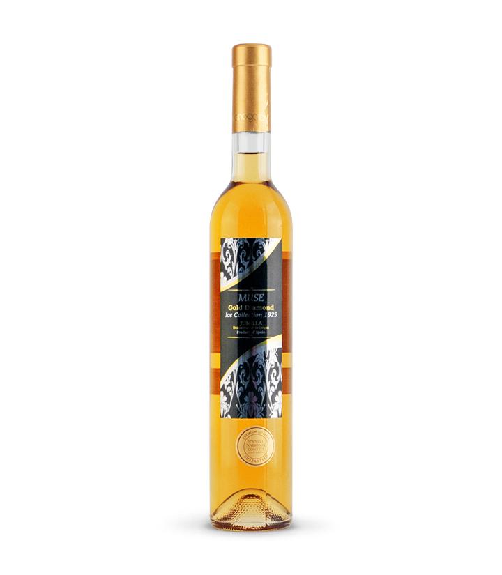 12.5°西班牙缪斯金钻甜白葡萄酒500ml 件