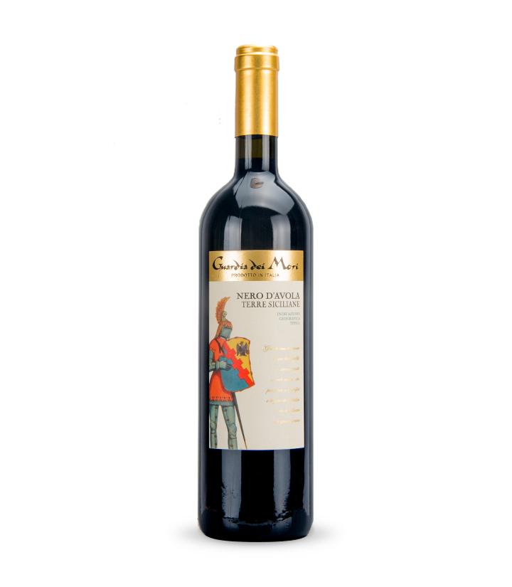 13°意大利卫队系列-黑达沃红葡萄酒750ml 瓶