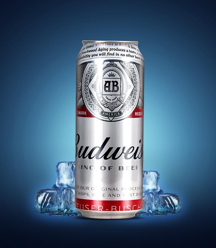 英国百威(比德威瑟)啤酒500ml 瓶